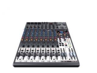 Table de Mixage Xenyx 1204 - 12 Entrées 2/2 BUS Mixer - Mic Preamp - Alim Fantôm