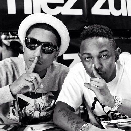 Kendrick Lamar l Pharrell Williams www.Kidocean.net