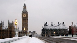 London in Wintertime