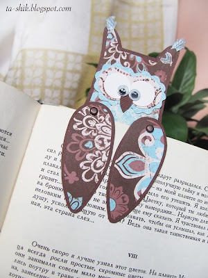 bookmark owl........... soooo cute!!!