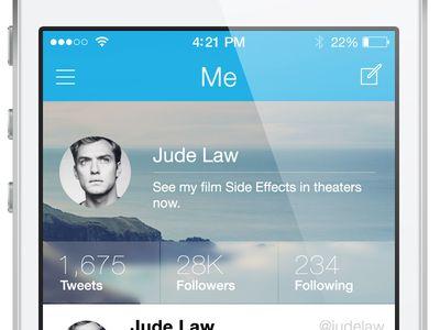Twitter UI (WIP)