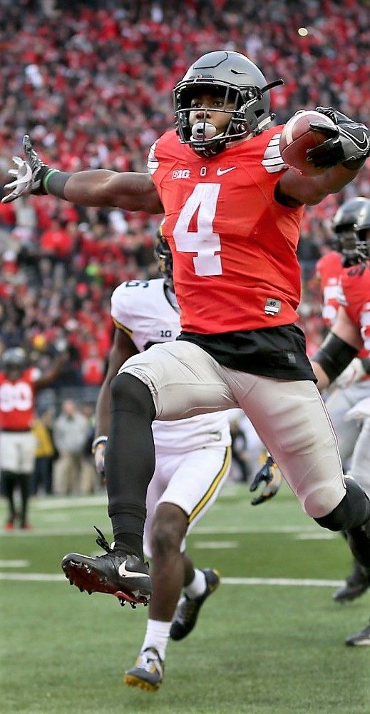Curtis Samuel (4) Thee Ohio State University