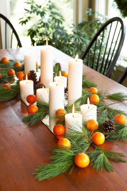 Top your Thanksgiving table with an easy-to-make centerpiece and other simple decorations.