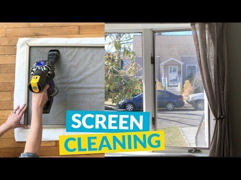 Quick Clean Your Window Screens | Hometalk