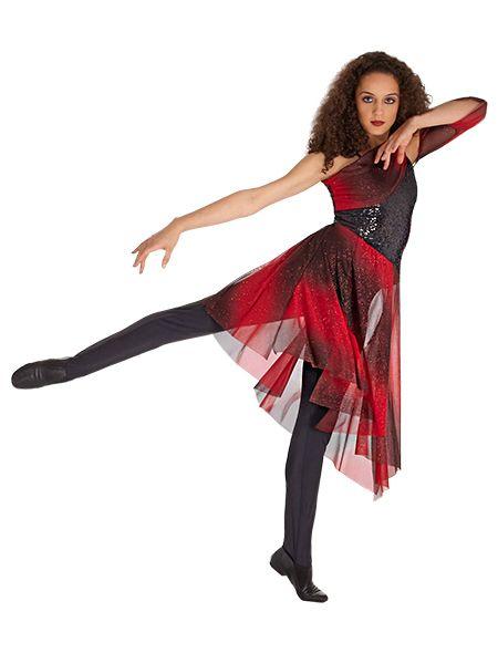 Color guard dance dresses