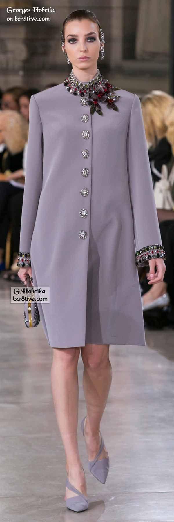 Georges Hobeika Fall 2016 Haute Couture El detalle de los puños es espectacular!