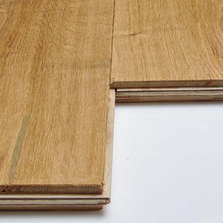 Luxury Farmhouse Oak Wide Brushed & Oiled Engineered Wood Flooring - 1