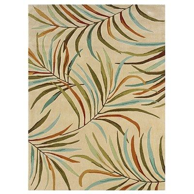Bring A Garden Chic Touch To Your Living Room Or Study With This Artfully Hand Tufted Rug Showcasing Multicolor Fern Motif