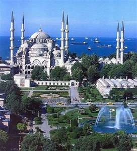 Sultan Ahmet (Blue) Mosque.