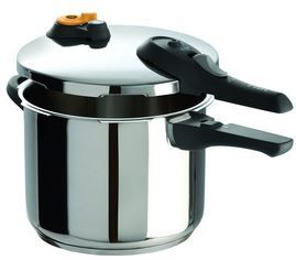 Buy This T-fal P25107 Stainless Steel Dishwasher Safe PFOA Free Pressure Cooker with deep discounted price online today for professional cooking experience.