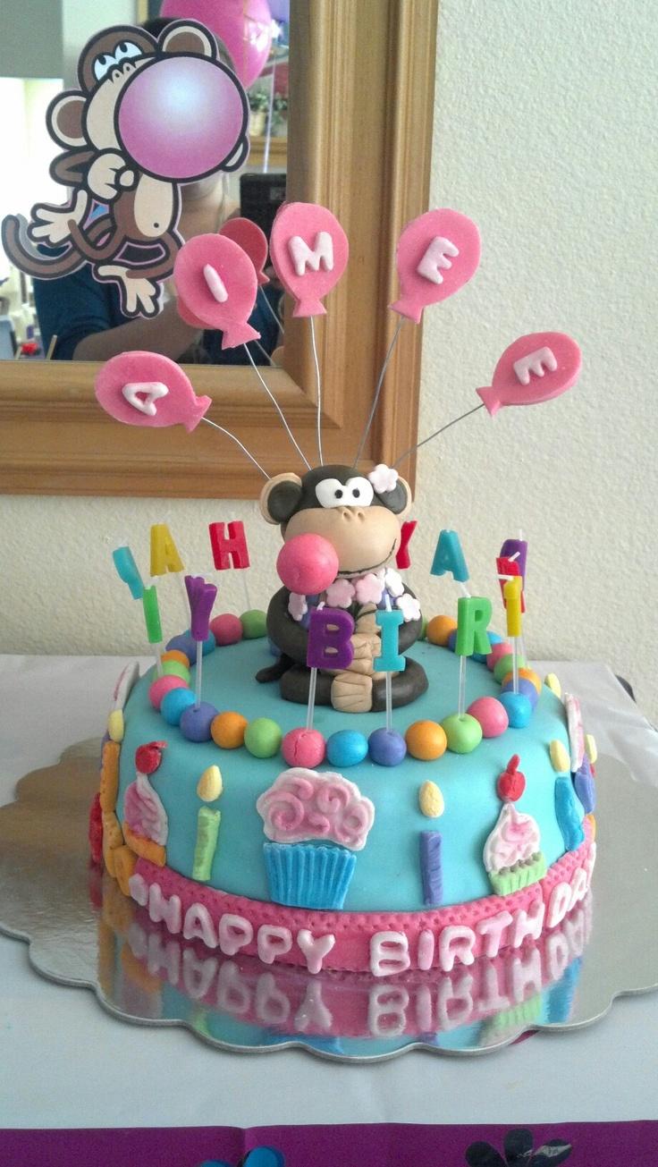 Bobby jack fondant cake