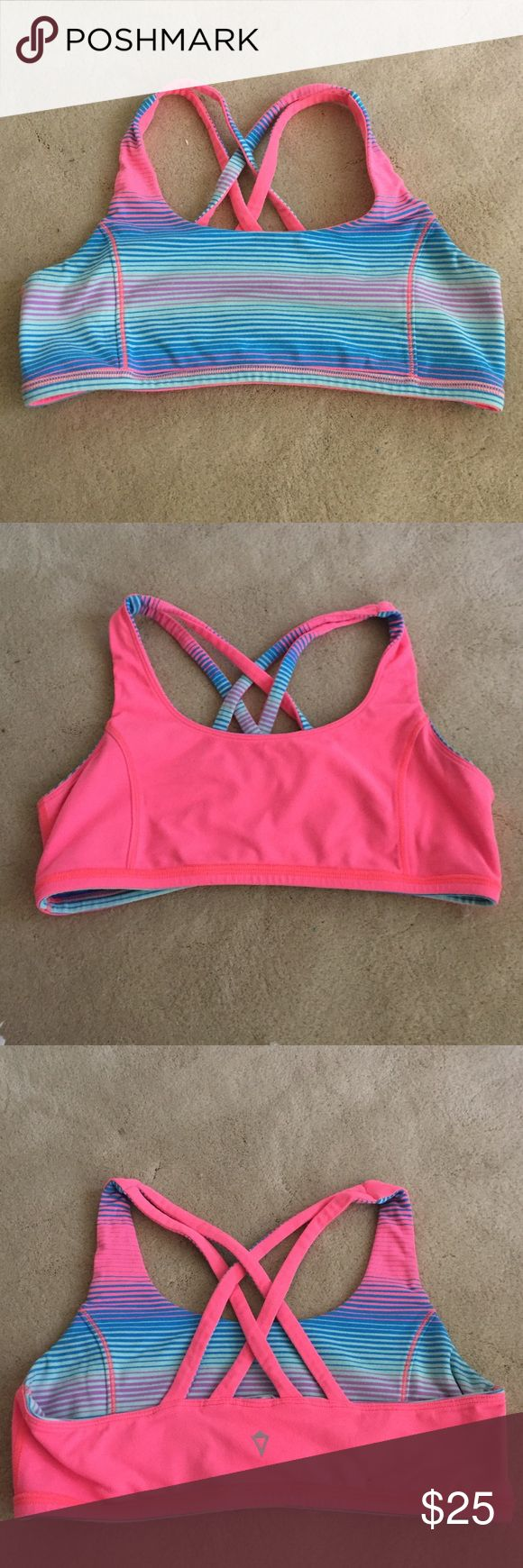 Ivviva (lululemon for kids) Sports Bra hardly worn, in great condition! sadly, it just doesn't fit me anymore:/ kid XL ivviva Intimates & Sleepwear Bras