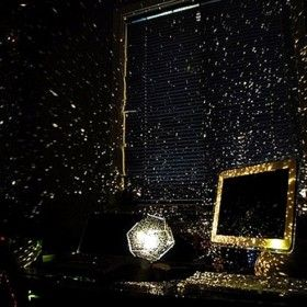 Star projector. Cool!Starry Night