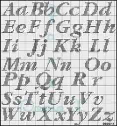 Resultado de imagen para nomes em ponto cruz