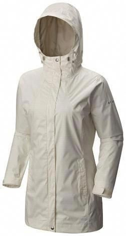 0961bfb9dcdc1 Columbia Women s Splash A Little Rain Jacket Plus Sizes Sea Salt Dotty Dye  Print 2X  RaincoatWomensSize10