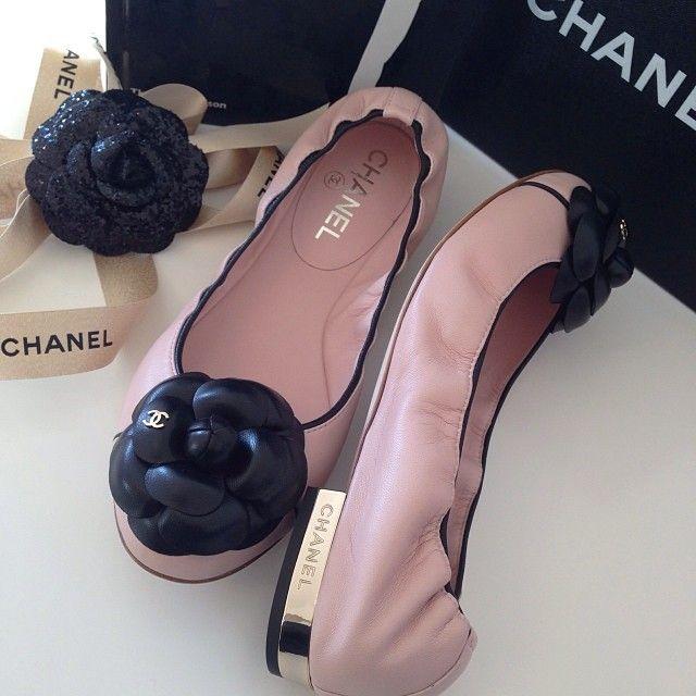Chanel flats
