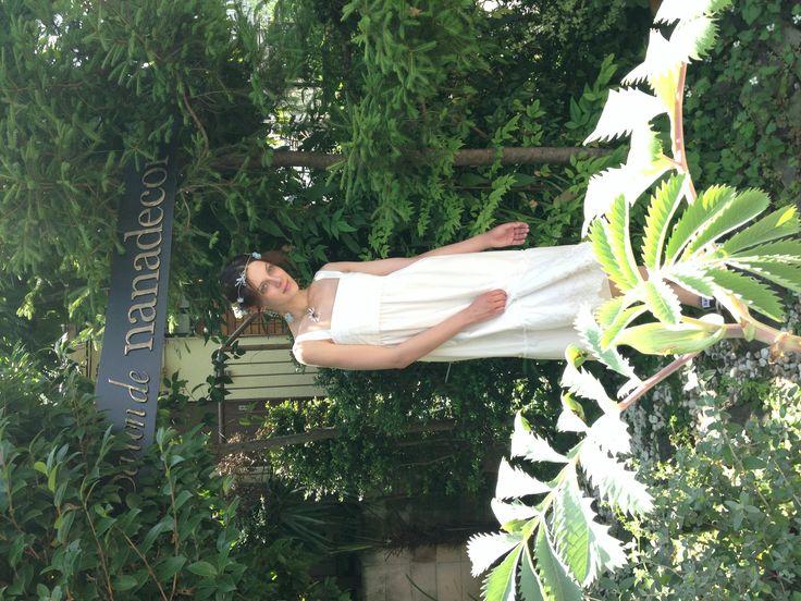 Organic cotton garden dress. #nanadecor