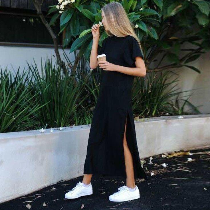 Summer Side High Slit Long Dress #dress #boho #bohemian #boheme #good #cute #clothes #sexy #women #robe #swag #beautiful #velvet #bohochic #maxirobe #maxi #long #skirt #shirt #mode #fashion #clothing #online #shop #shopping #summer #beach