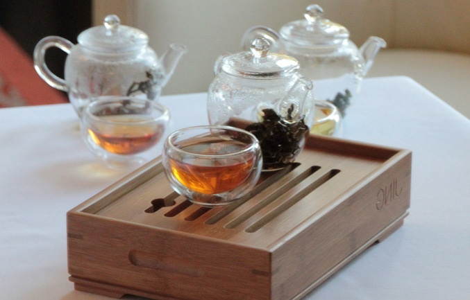 Redefining fine-dining with the definitive JING tea.  Experience the Oolong Tea Flight at Colette's with our innovative and unique dining concept served along side our à la carte menu for £15 per person.