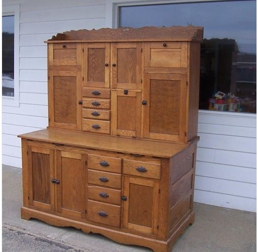 hoosier cabinet cottage pinterest
