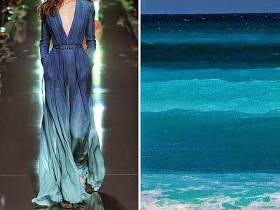 Fashion Inspired By Nature In Diptychs By Liliya Hudyakova ~ PicBitz