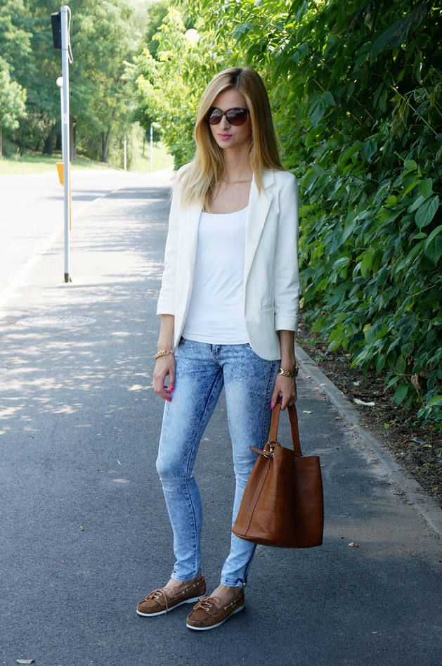 White&brown&jeans