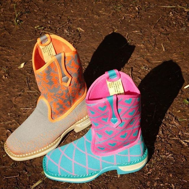 Don't save these kids cowboy boots for a rainy day, they're totally machine washable!