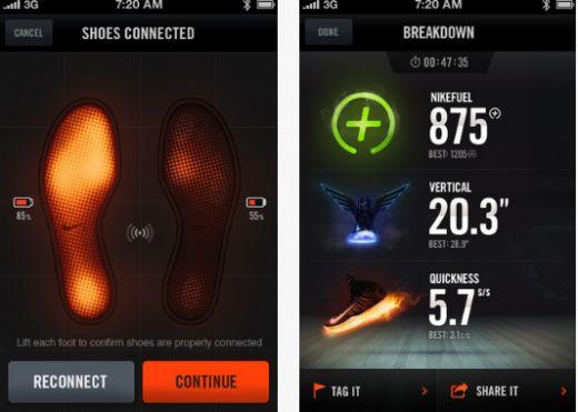 nike trainer range nike chip app