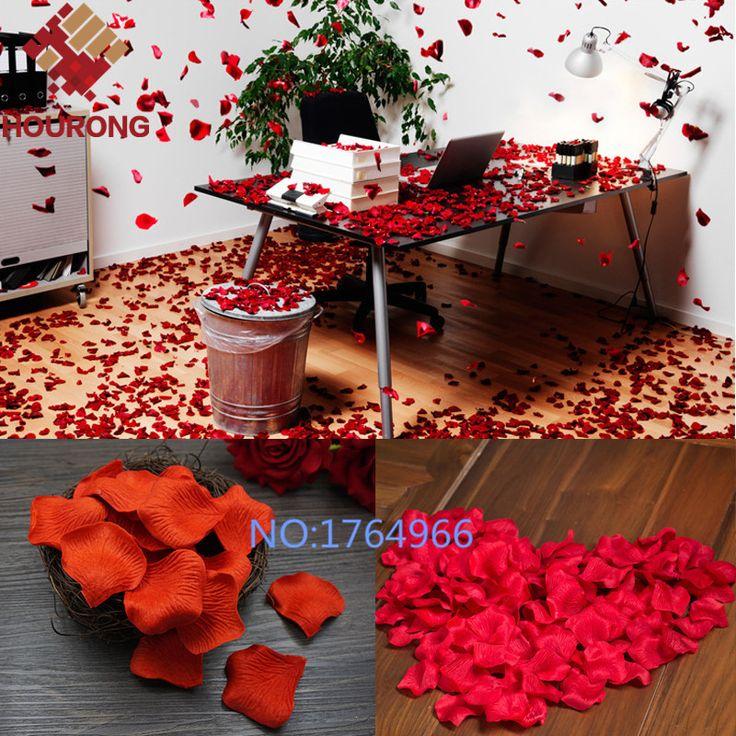 Купить товар1000 Шт./лот 21 Цвета Шелковые Лепестки Роз Листья Искусственные Цветы Лепестки…