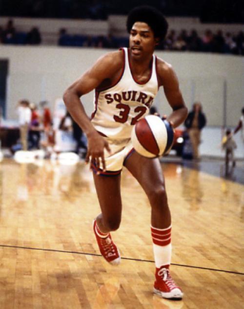 Julius Erving drom Virginia Squires | Dr. J Julius Erving ABA Virginia Squires Basketball Photo-REDUCED!