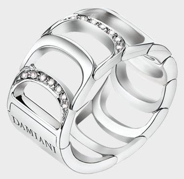 Damiani- Damianissima -web-May.2013,WHITE GOLD AND DIAMOND (ct 0.17) RING