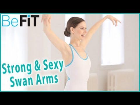 This = arm suicide. I'm not even sure how I'm typing this because they hurt. Salute to the ballerinas out there! || Ballet Beautiful: Strong & Sexy Swan Arms Workout- Mary Helen Bowers - YouTube