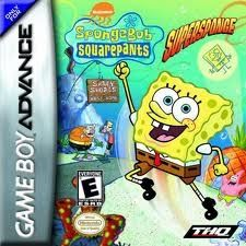 SpongeBob SquarePants Super Sponge - Game Boy Advance Game