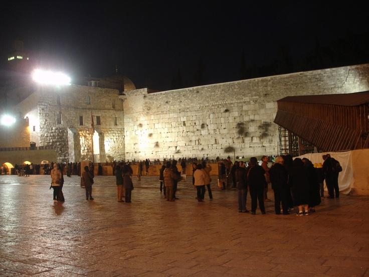 El Muro de los Lamentos es el lugar más sagrado para los Judíos.