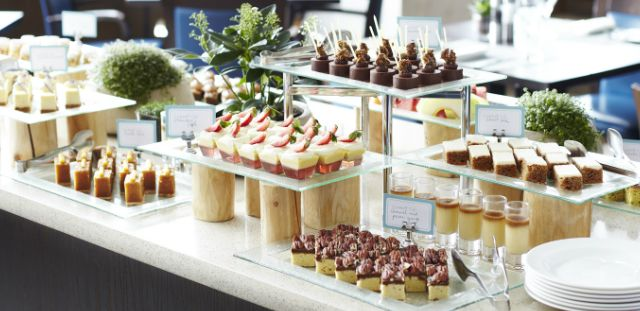 Cookbook Cafe - unlimited buffet & booze, tea, & coffee, £52 pp. Knightsbridge.