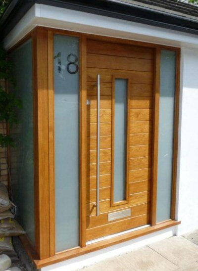The 25 best wood front doors ideas on pinterest diy for Contemporary front doors