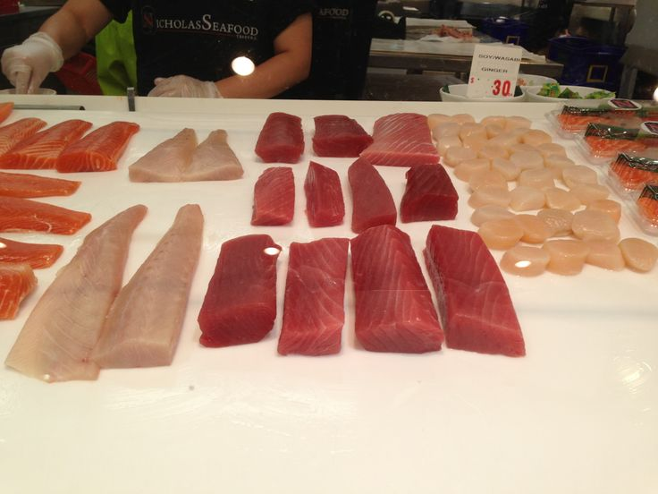 If you have not yet tried sashimi seafood, please do.
