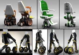 Image result for person sitting in electric wheelchair