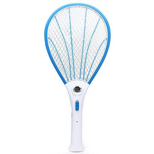 [Free Shipping] Rechargeable Electric Mosquito Fly Pest Killer Zapper Racket with LED // Mosquitos eléctrico recargable mosca asesino del parásito zapper raqueta con LED