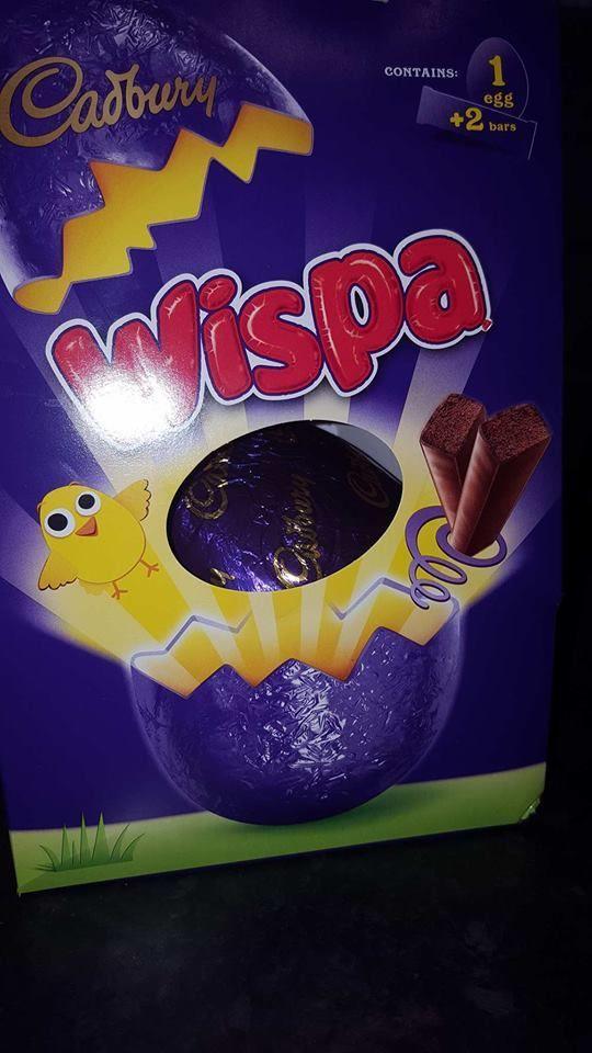Annabelle Review - Cadbury Wispa Easter Egg