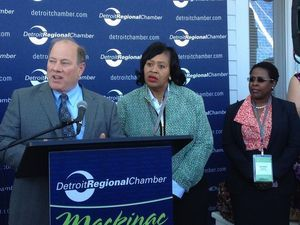 Detroit Mayor Mike Duggan announces summer youth employment initiative, $100 lot-next-door program at Mackinac Policy Conference