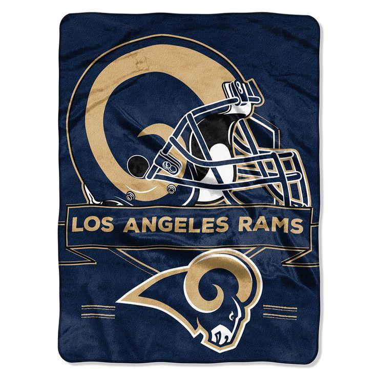 Los Angeles Rams Nfl Royal Plush Raschel (prestige Series)