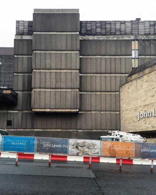 Before and after: Hugh Martin / Ian Burke / Ian G. Cooke: St. James Centre Edinburgh Great Britain 19641973. Planned redevelopment from Allan Murray Architects.http://ift.tt/29h98sJ Images:  hckbln 2016 /  edinburghstjames.com