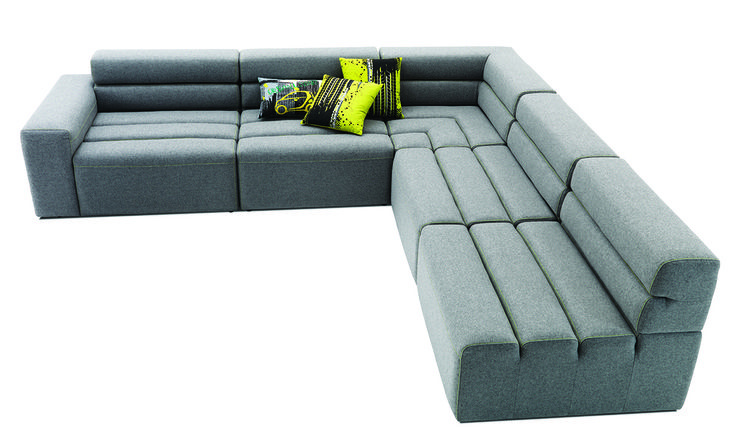 The boxy style of the modular smartville sofa is perfect for the industrial man-cave (http://theprov.in/1hqbtDj). Re-pin this image for a chance to win a $1,000 gift card to #BoConcept's Vancouver store. Click the image for entry form and rules or visit: http://theprov.in/BoContest