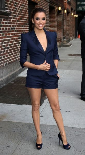 Eva Longoria wows in New York City