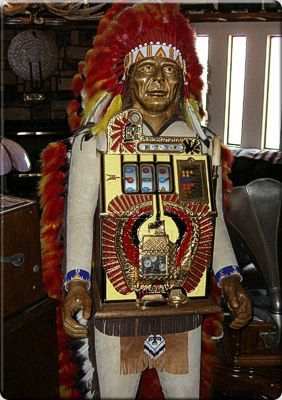 vintage slot machine for sale