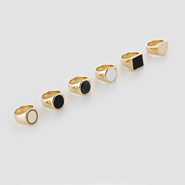 Tom Wood is the name of Norwegian designer Mona Jensen's masculine alter ego and the inspiration behind her collection of unisex signet rings and bands. Known for a unique inner shape that wraps softly around the finger, each ring is made ofsolid sterling silver or 9k rose or yellow gold - some