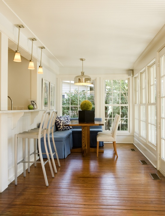 Breakfast Bar Into Sunroom? Historical Home Update Via Fredericku0026Frederick  Architects Part 76