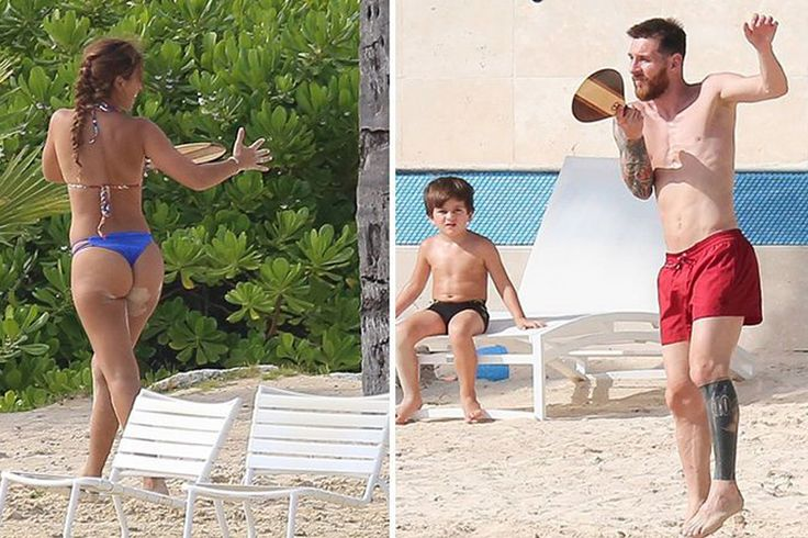 Lionel Messi Smashing Good Time On Honeymoon 1 7/8/2017 3:52 PM PDT Messi and his new wife, Antonella Roccuzzo, hit up the beach with their 2 sons ..