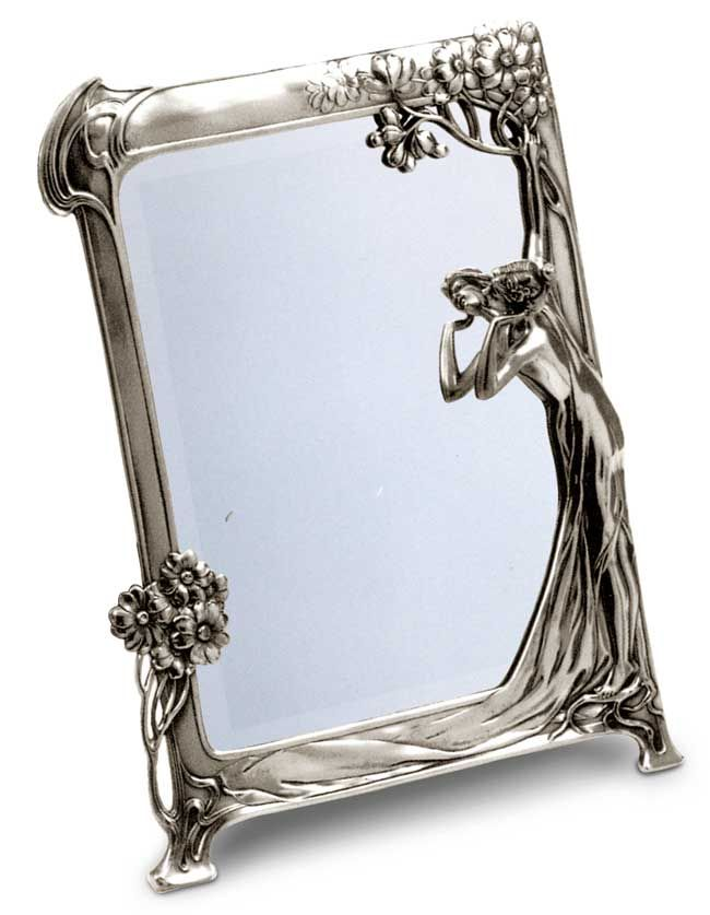 Toilette Mirror.  Thanks to my dear mother in law, I have this this one in brass!
